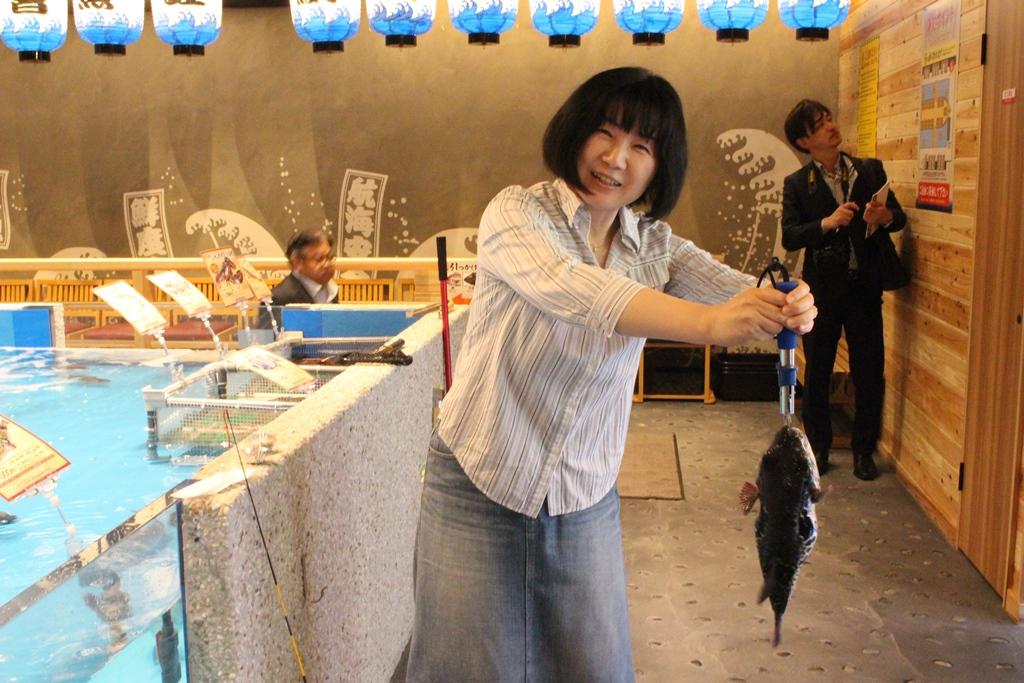 釣り体験 4