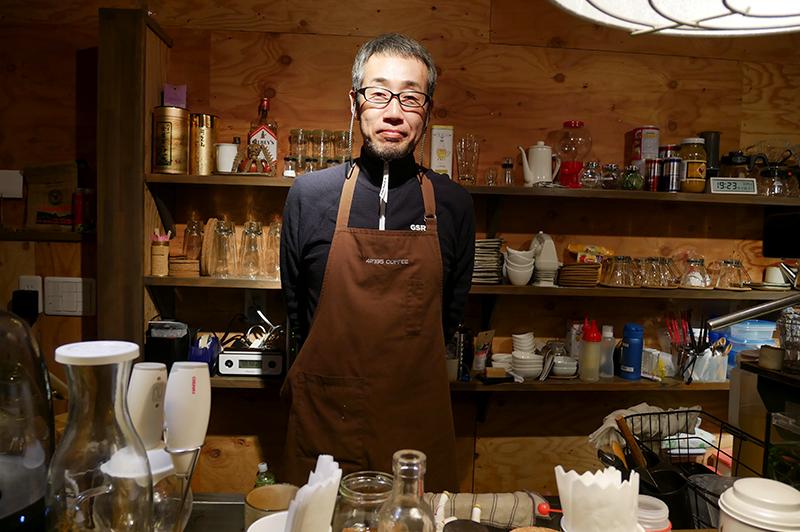 42195 COFFEEの店主
