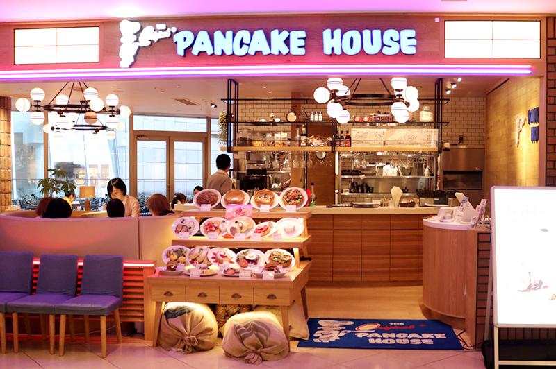 オリジナルパンケーキハウスなんばパークス店外観