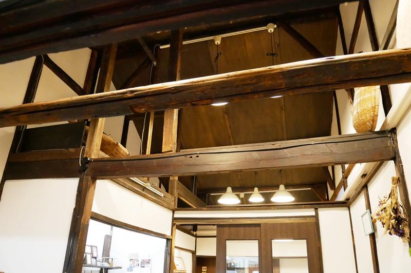 内装に使用されている材木