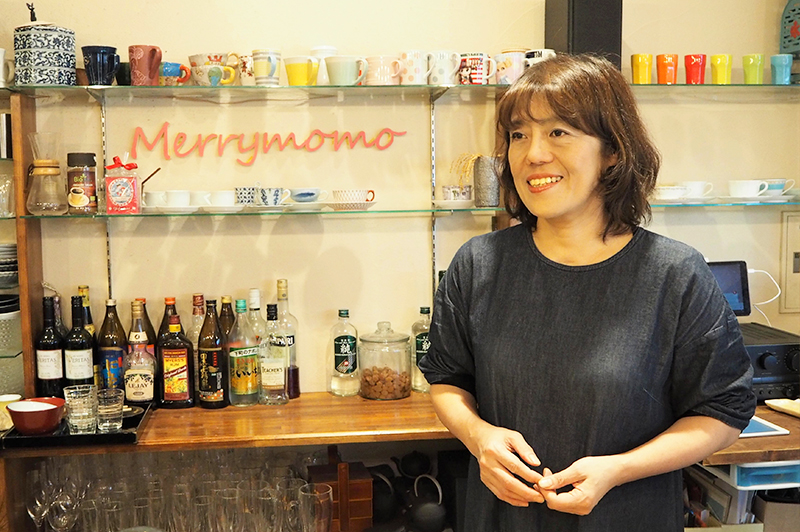 Merrymomoの店主
