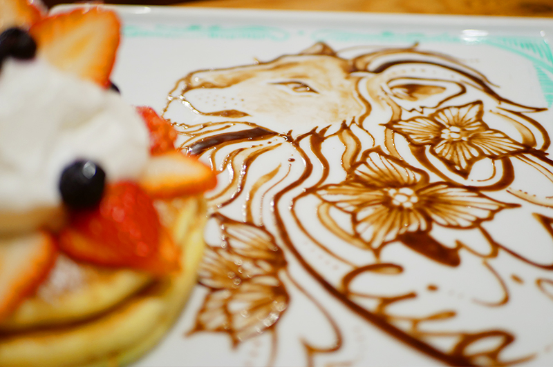 店内は料理を含めてアート作品!谷町六丁目の『art&sweets cica』で、芸術的なパンケーキを食べて、お腹も心も満たされよう!