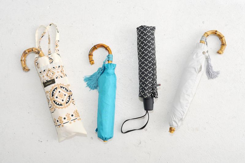 持っておきたい!女性の《折りたたみ傘》人気ブランド3選!『クニルプス』『ワカオ』『マニプリ』