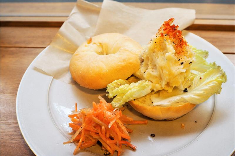キタアカリの自家製ポテトサラダサンド