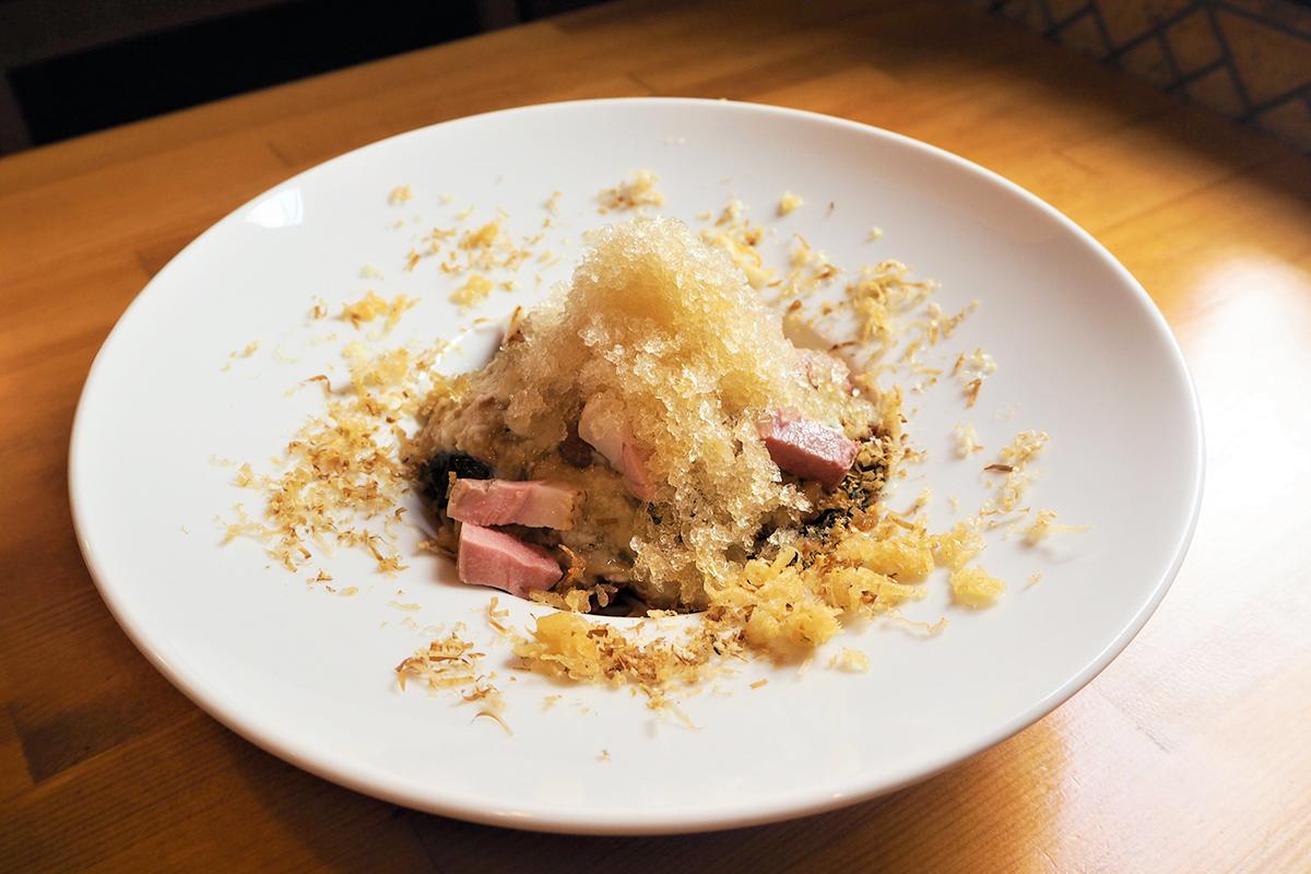 氷蕎麦(トロロと海藻/冷)