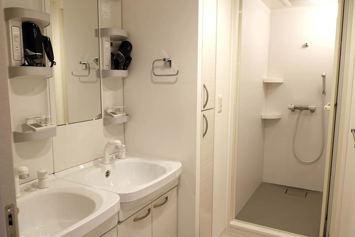 洗面台が2つはポイント高いですね