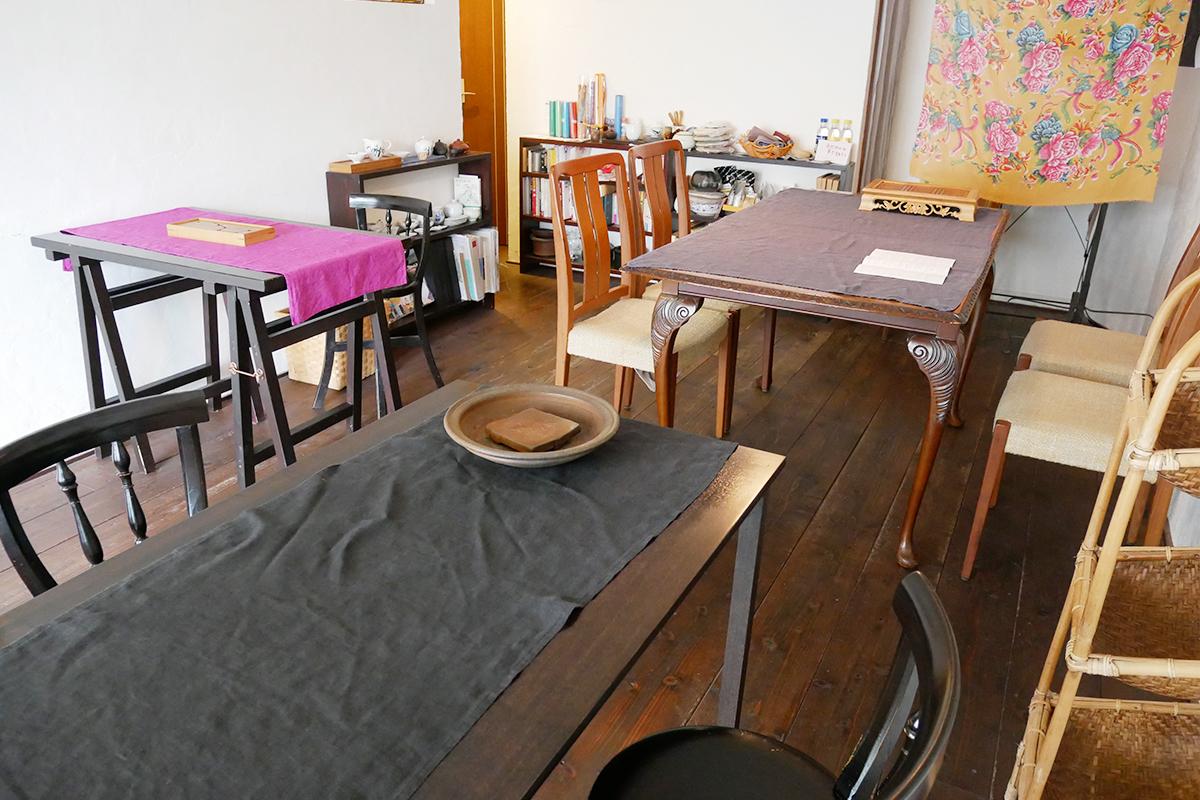 4つのテーブル席