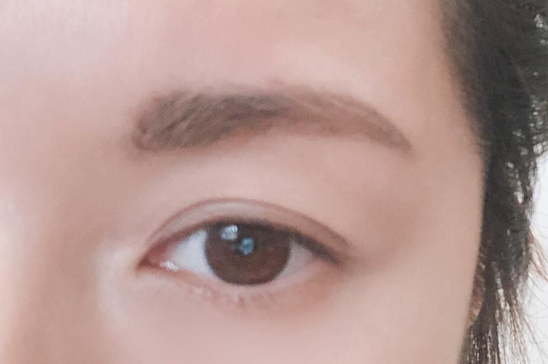眉毛全体の形を整える