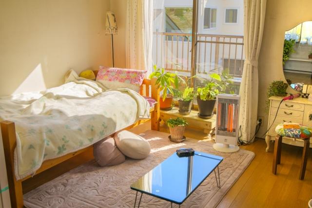 ひとり暮らしのワンルーム