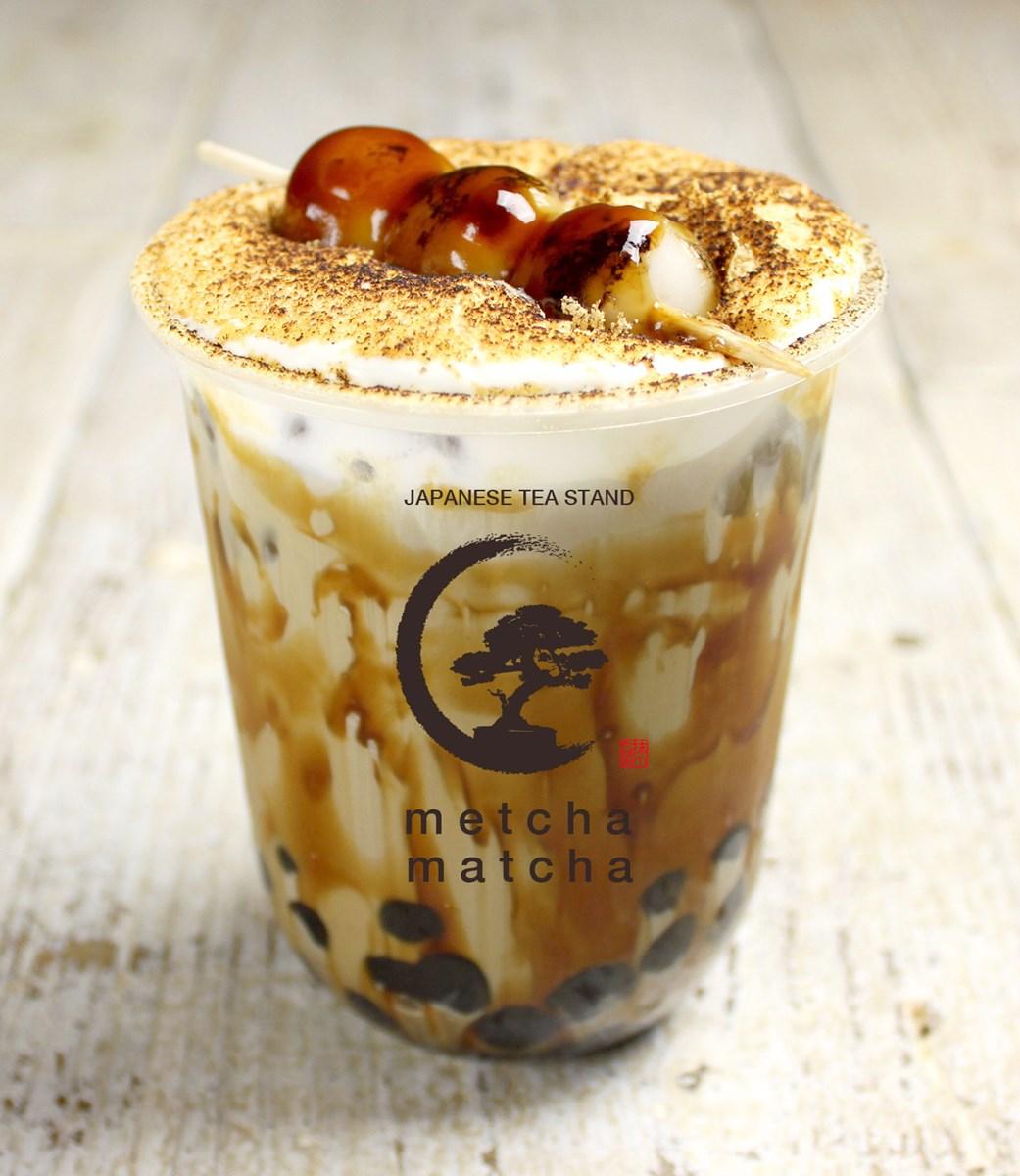 【淀屋橋】日本の伝統素材をトッピング!日本茶スタンド『metcha matcha(メッチャマッチャ) 淀屋橋』、10/11(金)オープン