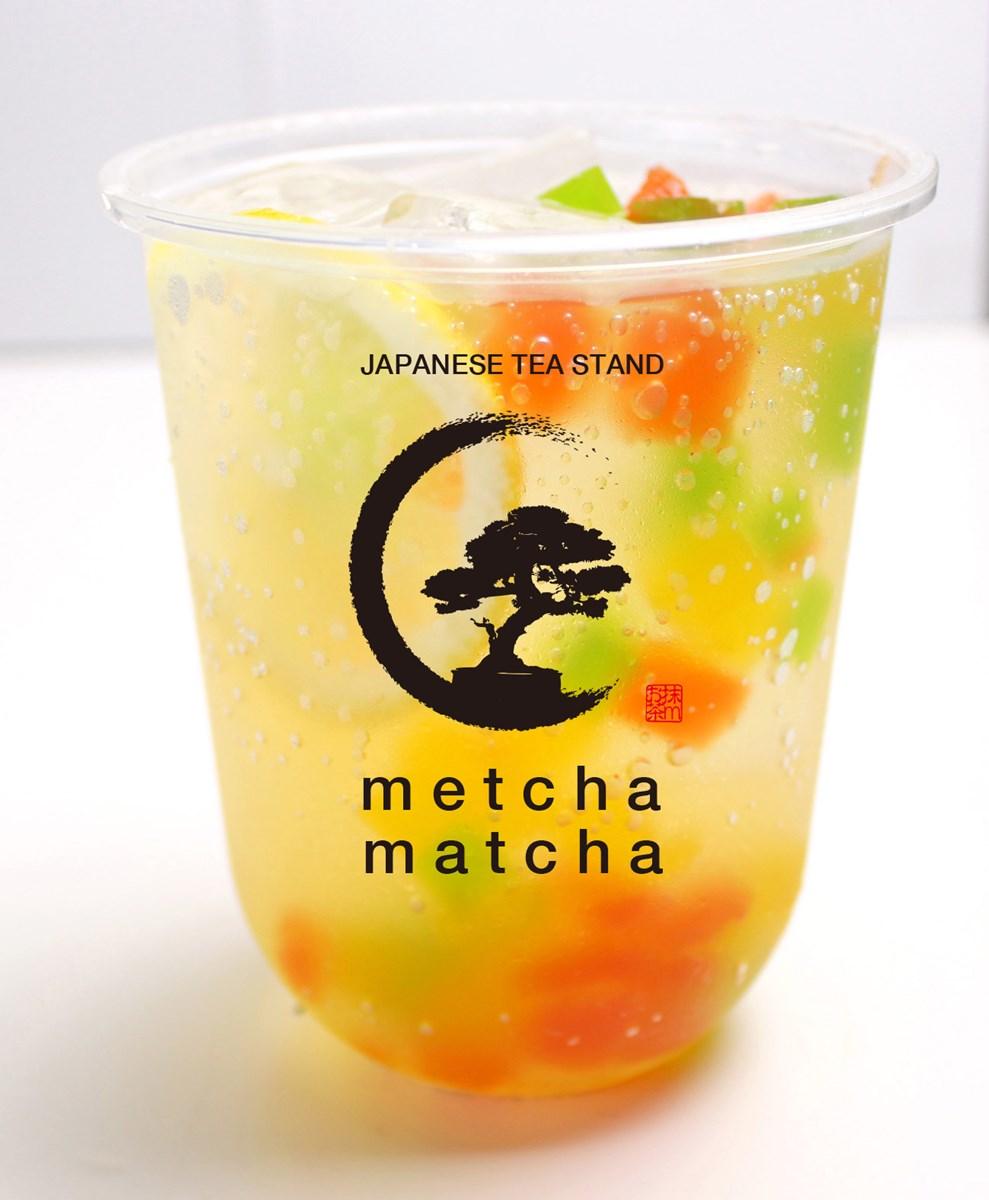 「緑茶ピーチティー」(500円)