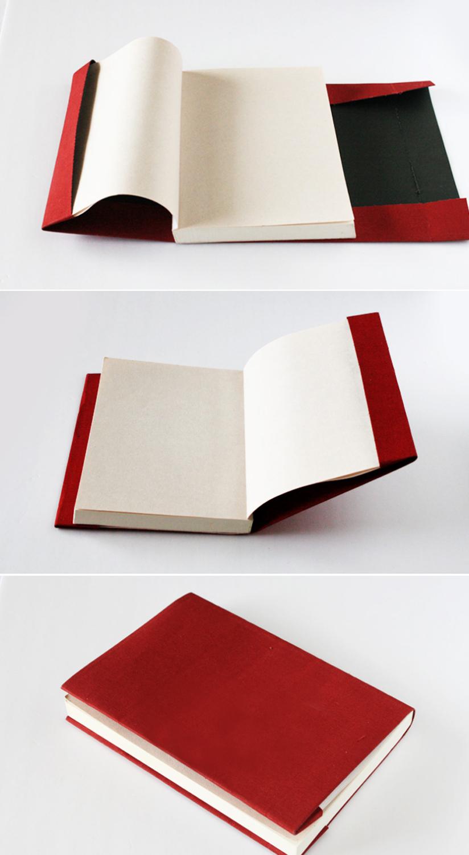 ブックカバーの本体作成手順