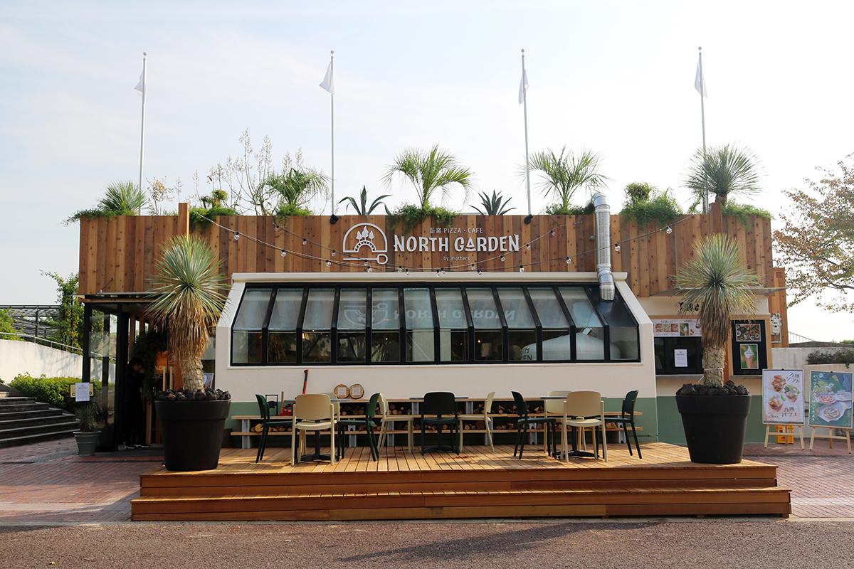 【吹田】『万博記念公園』内の『薪窯PIZZA・CAFE NORTH GARDEN』は、食事も充実な…