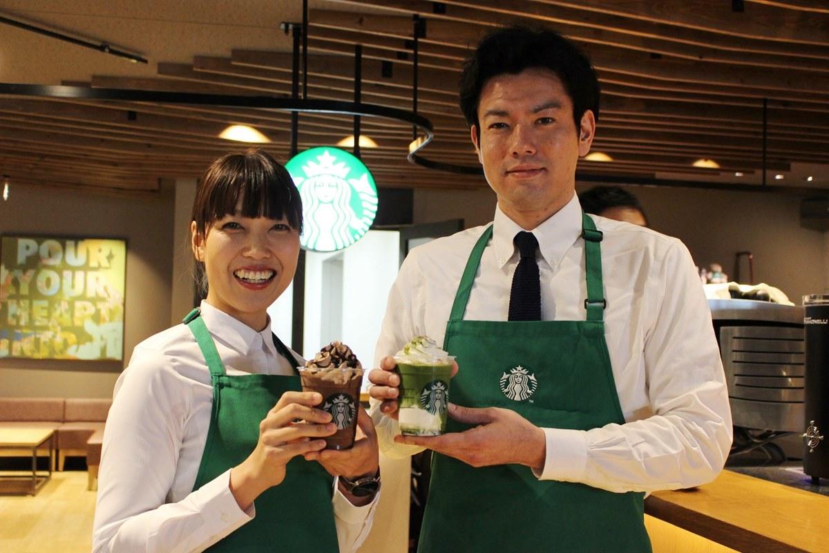 姫路南店・乙女佳加店長(左)
