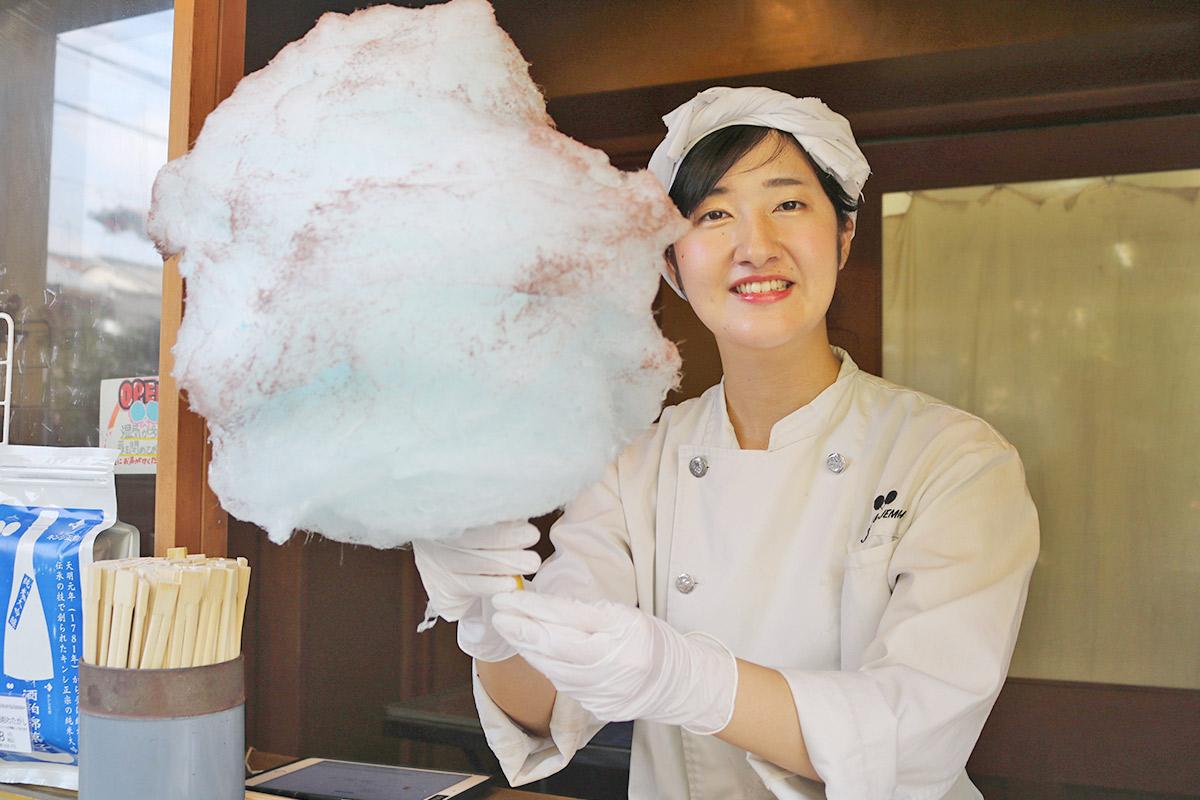 【東山】『JEREMY&JEMIMAH(ジェレミー&ジェマイマ)祇園店』でフワフワの綿菓子を