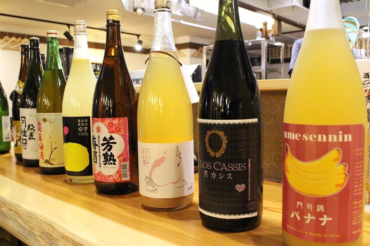 お酒もサワー、焼酎、日本酒、ワイン、ビール、ハイボール、お茶割り等種類豊富に揃います