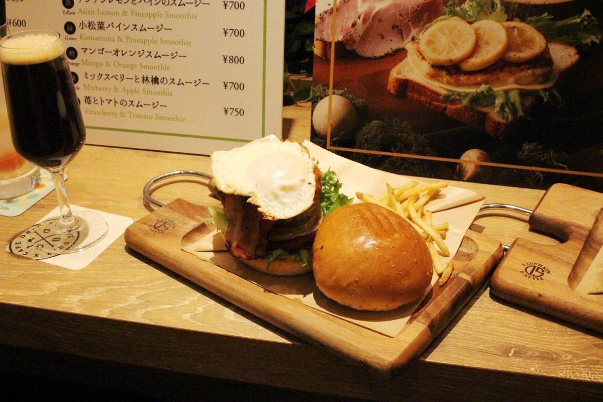 「ベーコンエッグバーガー」(1,150円)