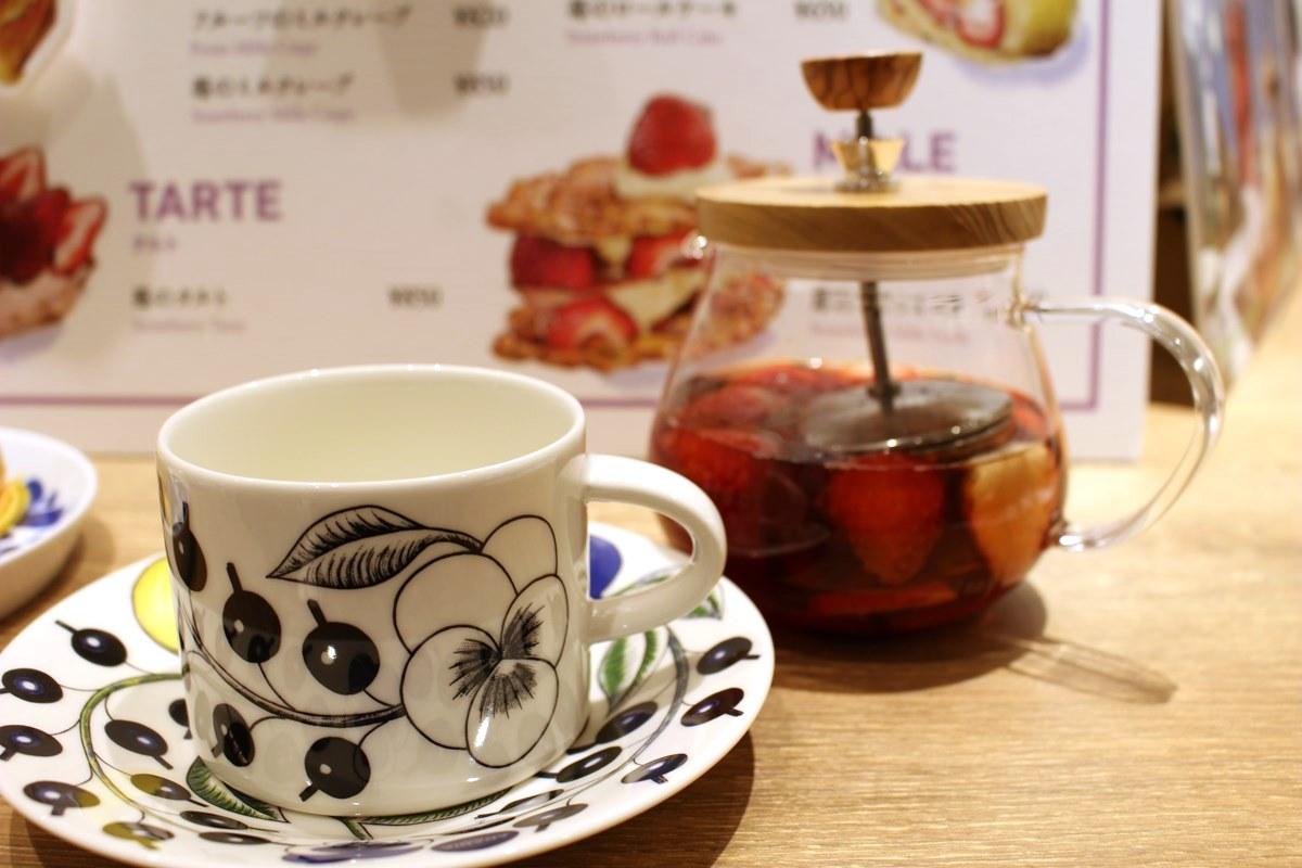 フルーツティー「苺&ミックスベリー」(700円)