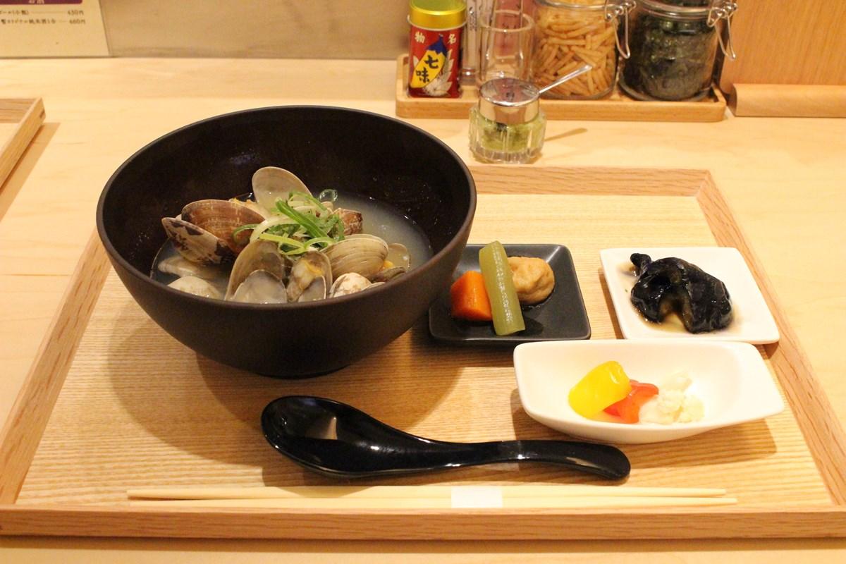 「あさり汁」(780円)