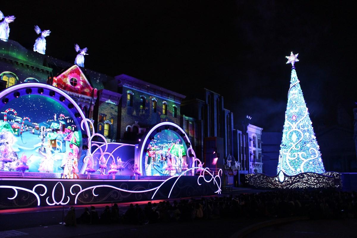 パーク史上最大規模のクリスマスイベント『ユニバーサル・クリスタル・クリスマス』、期間限定開催中!