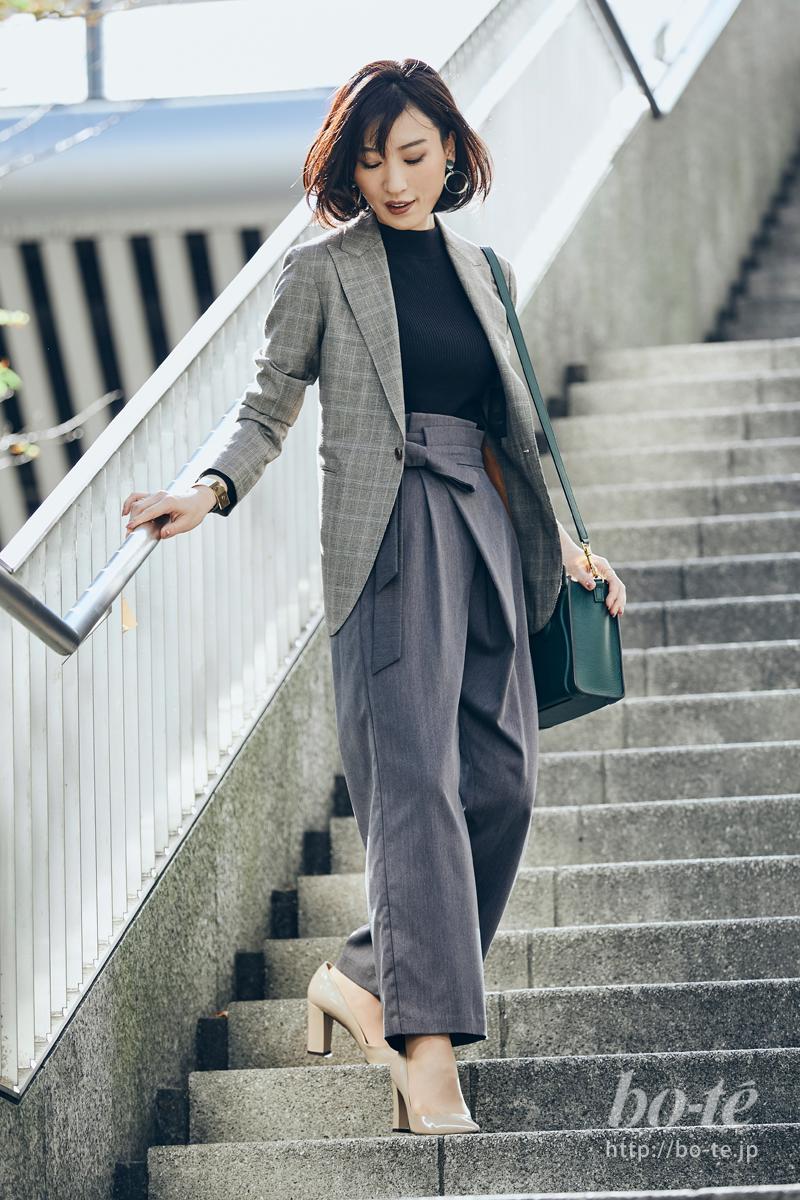 誠実さが魅力の《ジャケットスタイル》にトレンド感もキープ