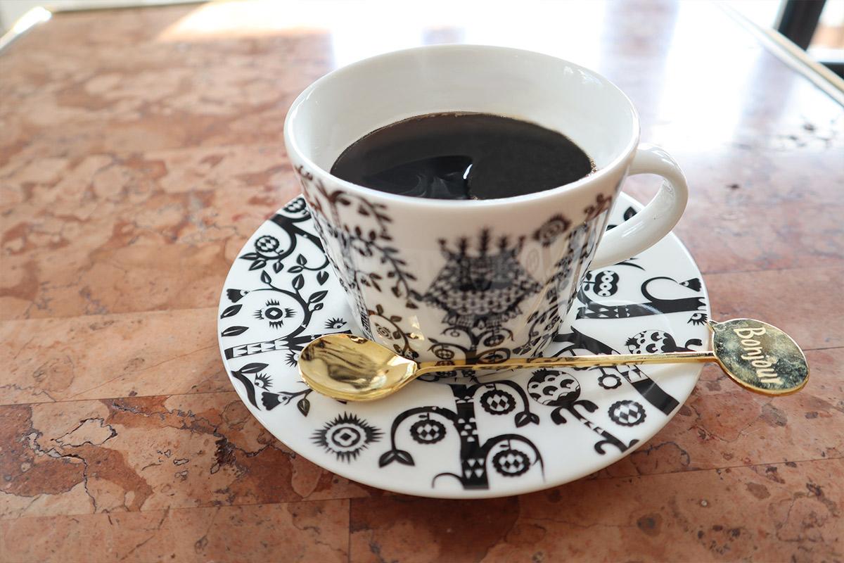 オリジナルブレンドのコーヒー