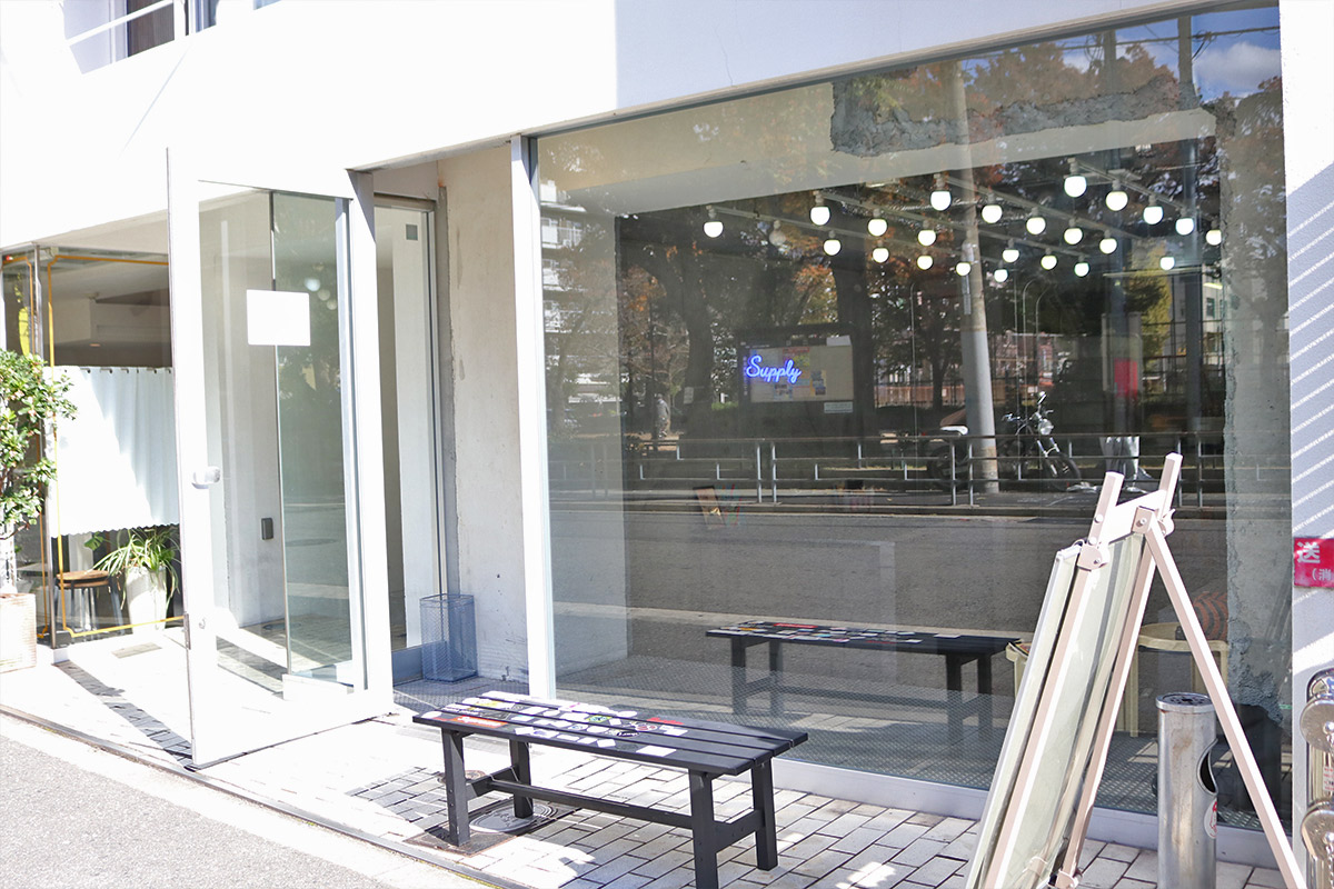 THE MARK COFFEE SUPPLY 大阪店の外観