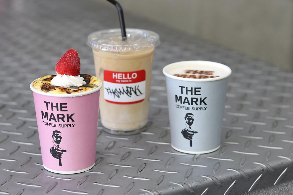 【堀江】ドリンクスタンド『THE MARK COFFEE SUPPLY大阪店』でフォトジェニックな…