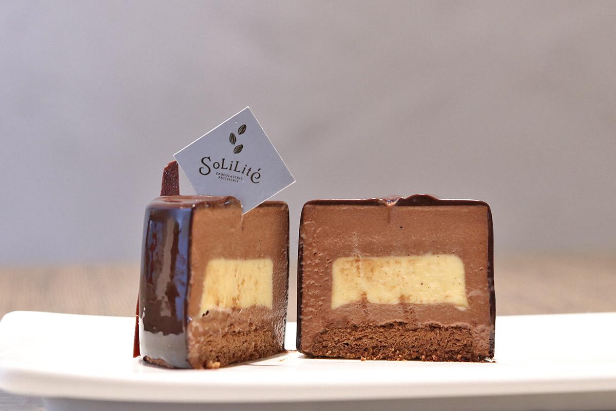 【江戸堀】カカオの風味と香りをギュッと閉じ込めた『SoLiLite』のボンボンショコラ