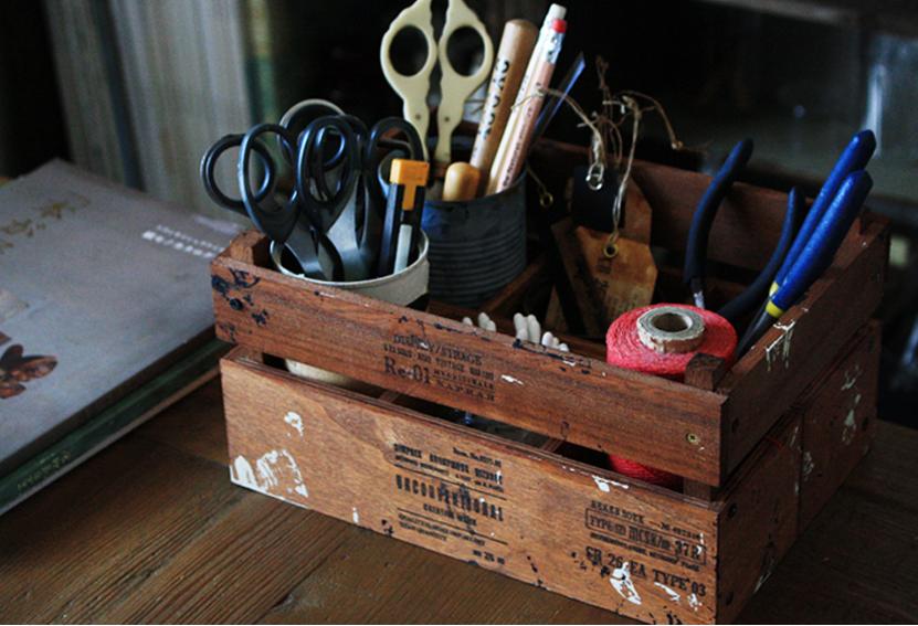 【連載】100均アイテムが驚きの大変身!仕切りの付いたおしゃれな「ウッドボックス」を作ろう!