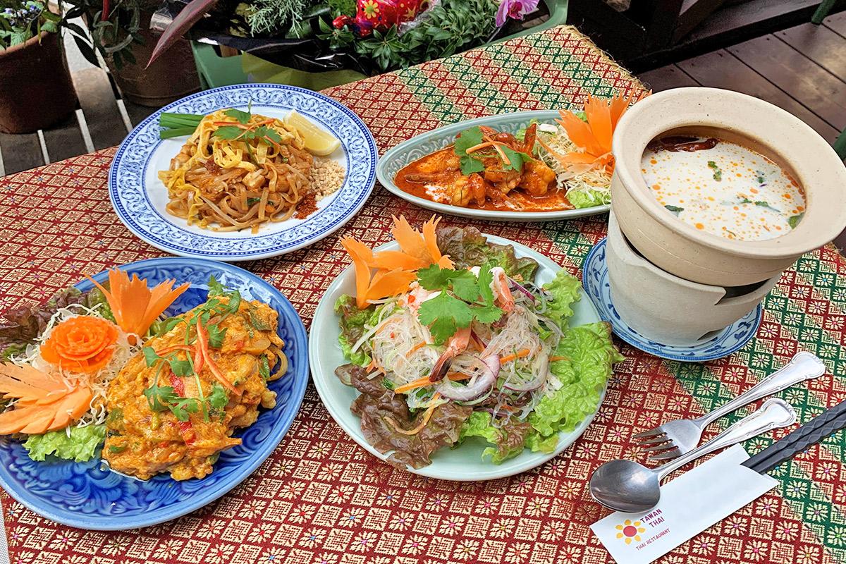 【南船場】『タワンタイ』でコクと旨味たっぷりの本格タイ料理を堪能!