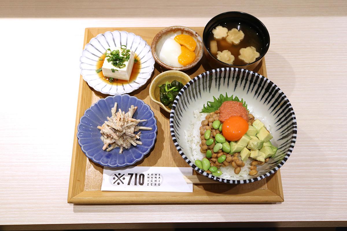 【本町】匂い控えめがうれしい!納豆ランチと納豆創作料理のお店『※710(コメナナイチゼロ)』