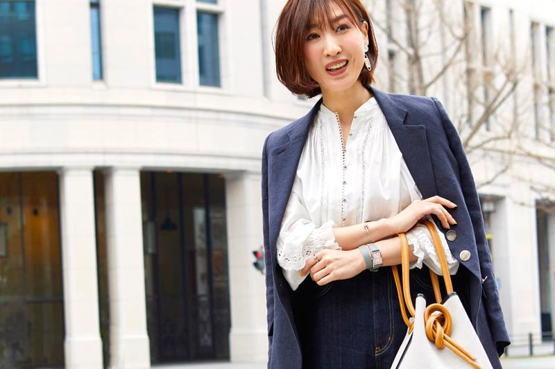 春のお仕事コーデの衣替えは「ホワイト」をかしこく使って美人度アップ