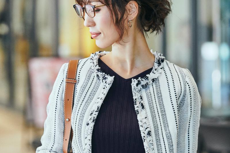 30代の《ジャケット×スカート》春のカッチリ系オフィスカジュアル