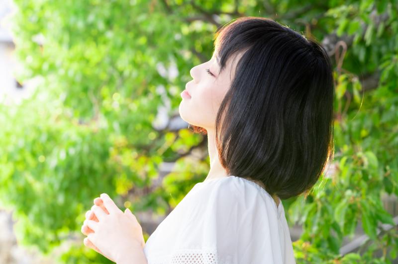 """前髪カットで気軽に""""イメチェン""""!"""