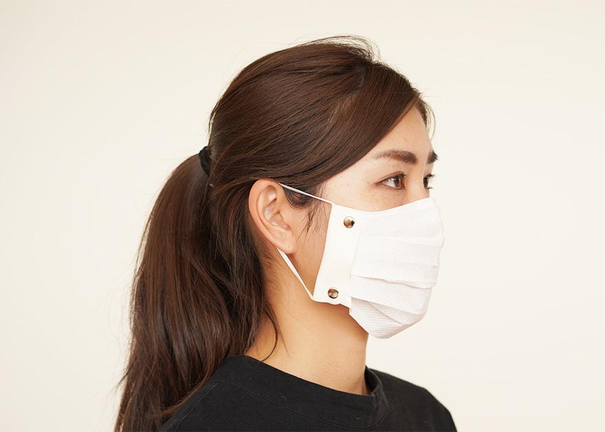 ハンカチやキッチンペーパーがマスクに早変わり!「TEES 一生使えるマスクホルダー」発売開始