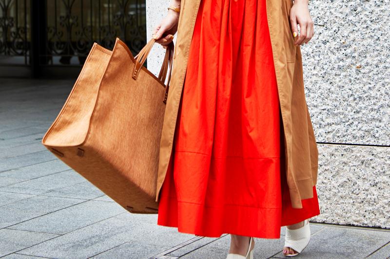 「マキシ・ロング丈」のスカートやワンピースで垢抜けるコーデ8選