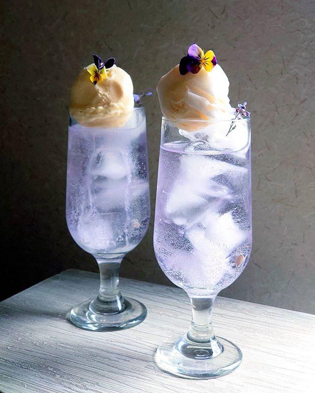手作りクリームソーダ