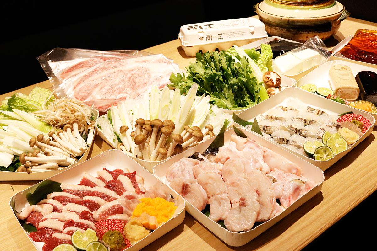 """人気和食店『璃泉』のオススメ鍋!""""料理長特製出汁付き""""鍋セットをテイクアウトで"""
