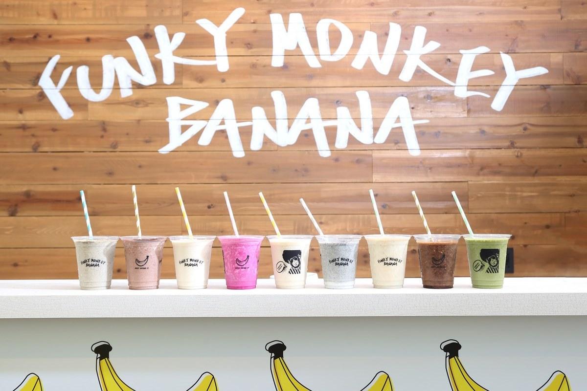 【心斎橋】濃厚!甘熟!バナナジュース専門店『FUNKY MONKEY BANANA』オープン