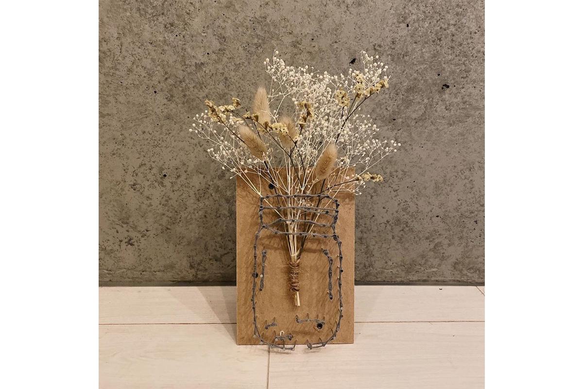 植物を素敵に飾る!簡単インテリア「ストリングアート」の作り方&実例3選
