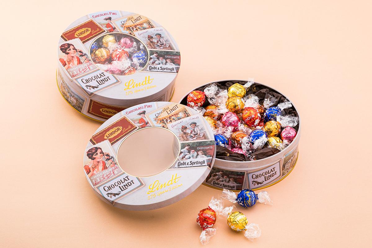 缶フェチ必見!チョコブランド『リンツ』から「スイスコレクション」が新発売