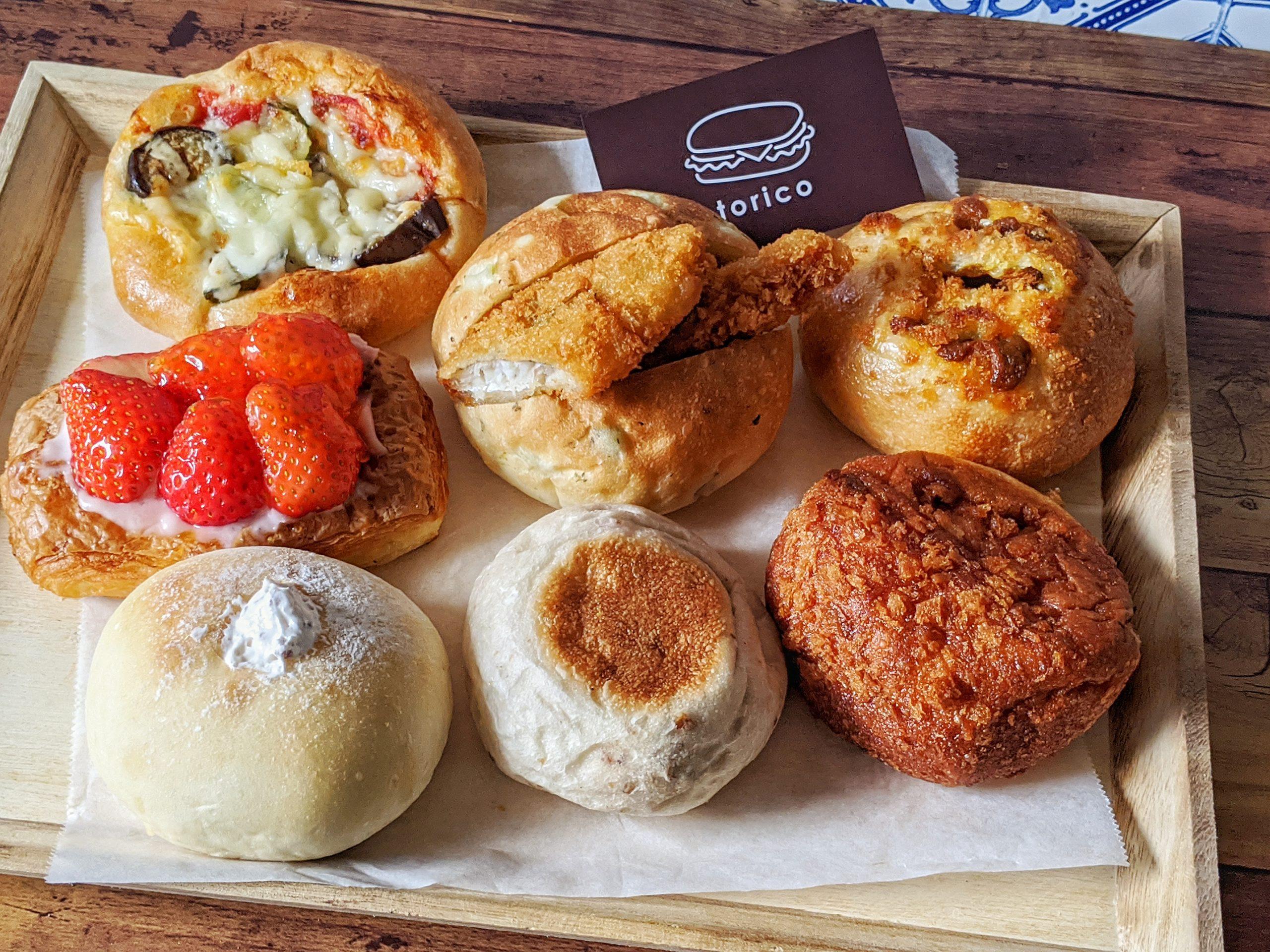 堺筋本町にあるパン屋さん「torico」