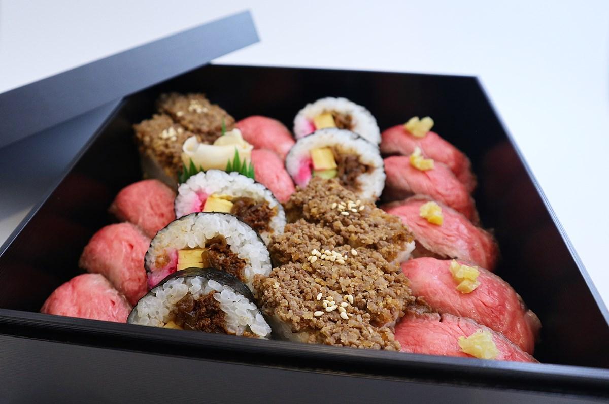 【なんば】肉寿司テイクアウト専門店『京都WHAT'S おにくのおすし』が『大阪高島屋』に誕生