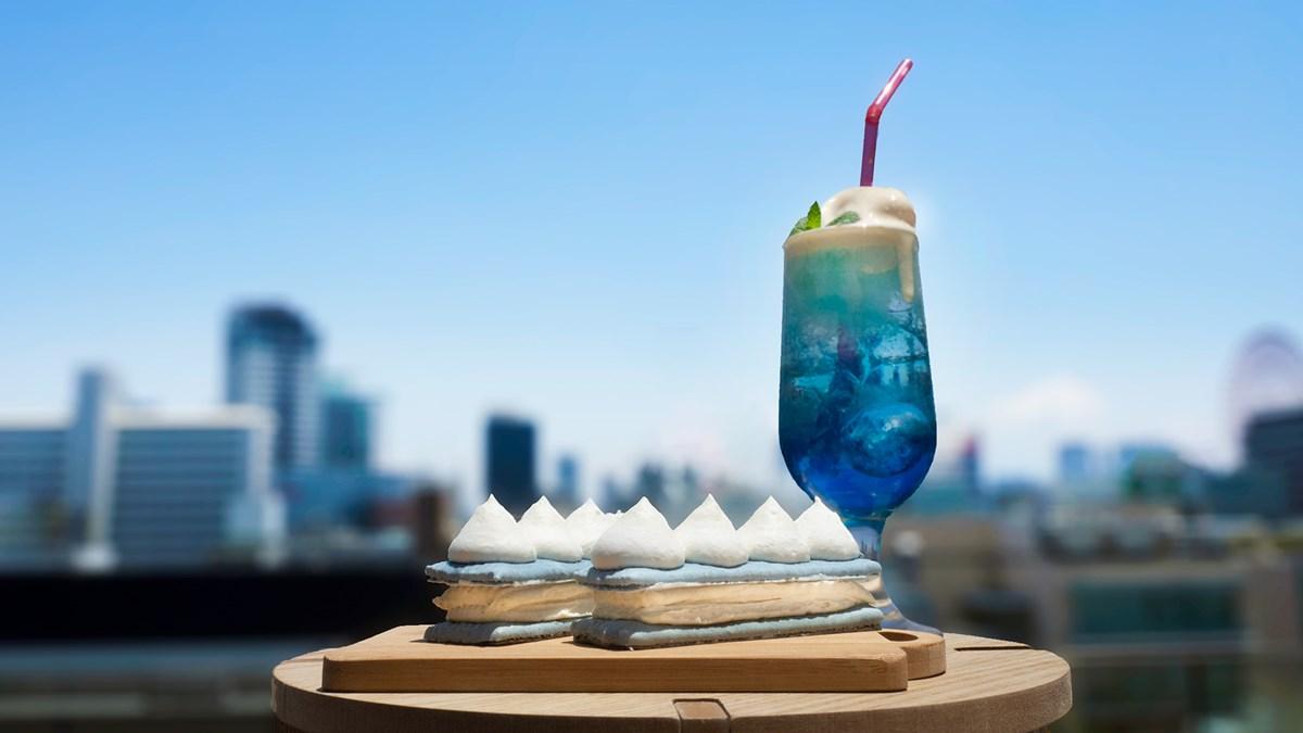 【神戸】クリームソーダのようなエクレア!『ビスポッケ』1周年記念「空のエクレア」誕生
