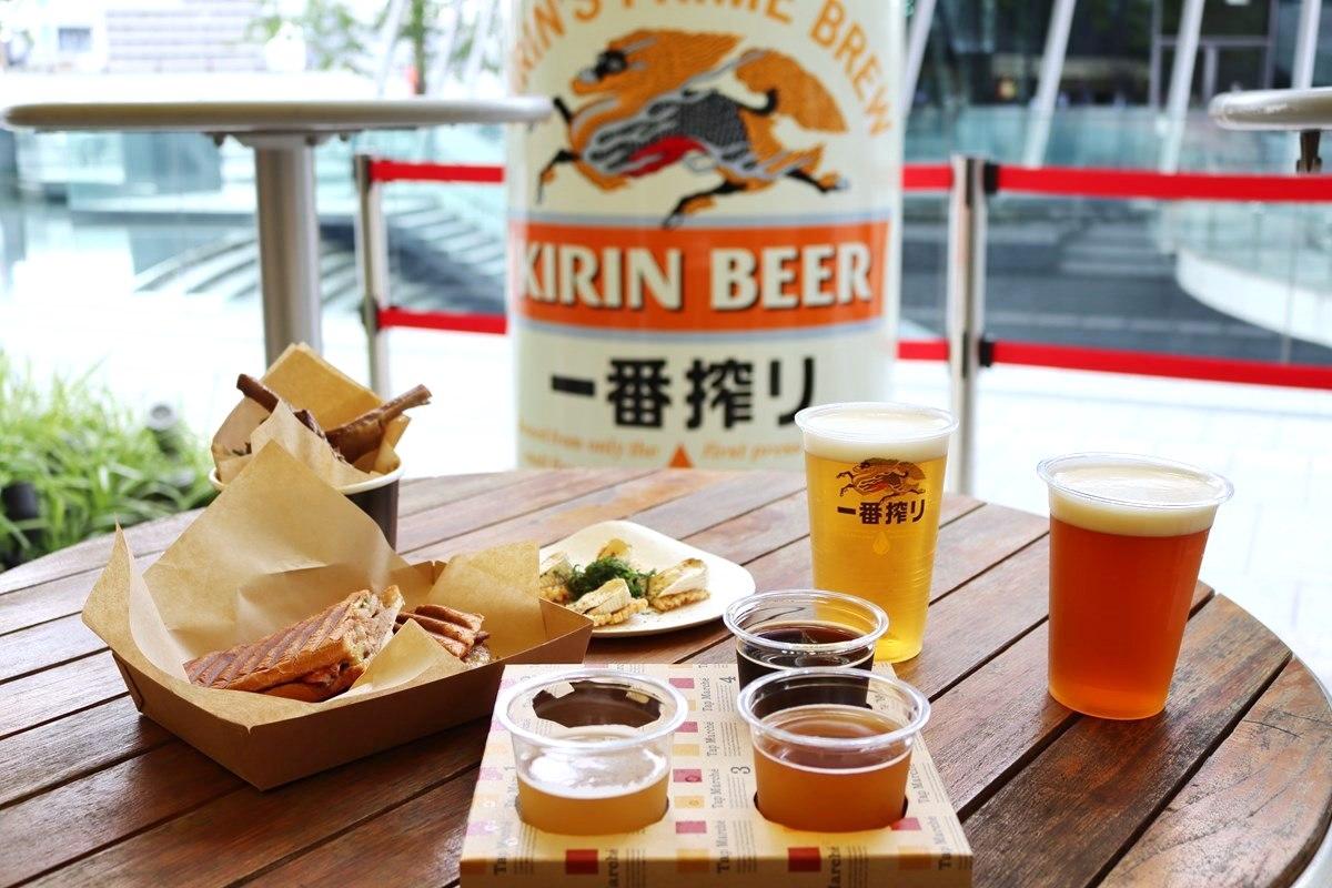 【梅田】『クラフトビアガーデン 大阪』オープン!クラフトビールを飲んで関西を元気に