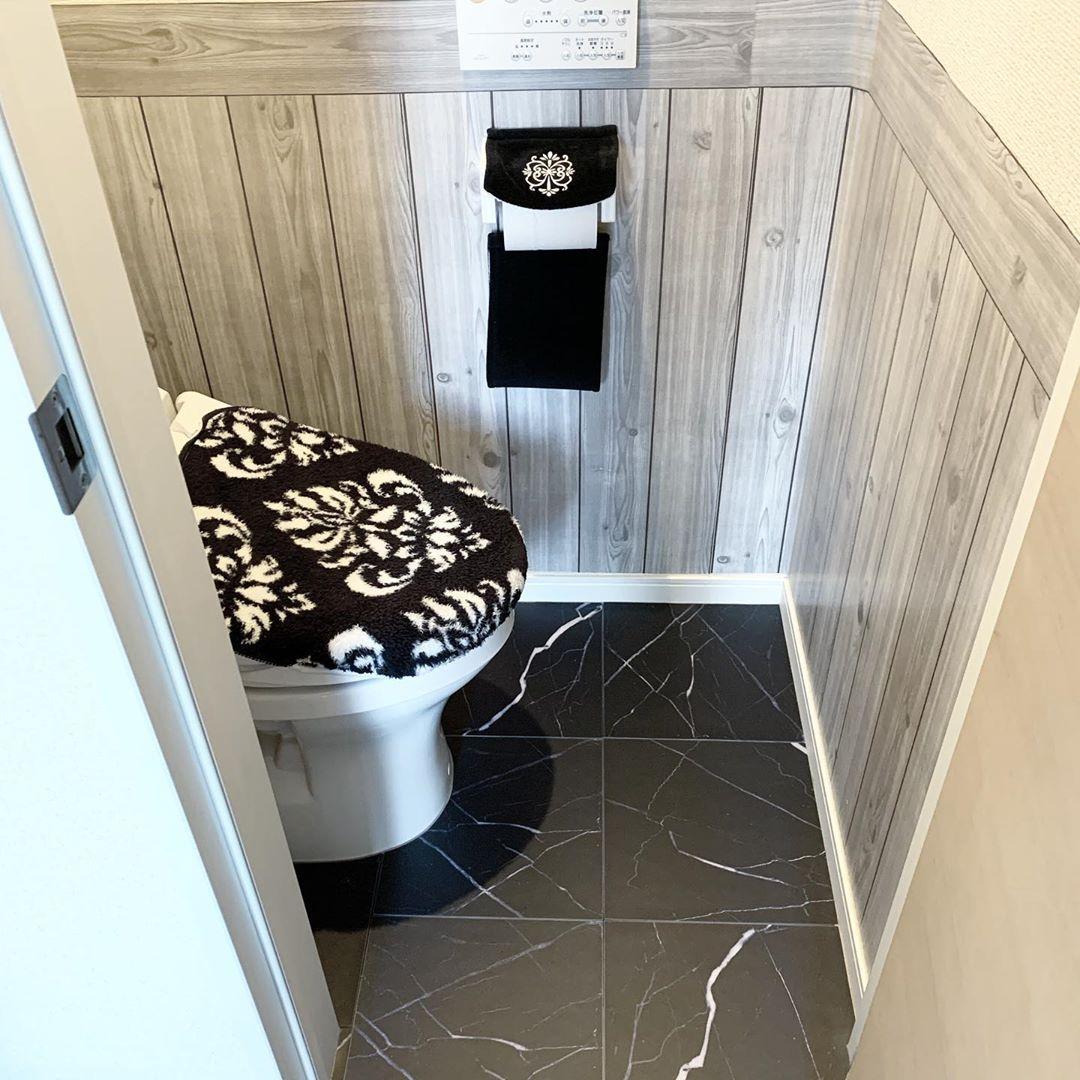 トイレのおしゃれなインテリア