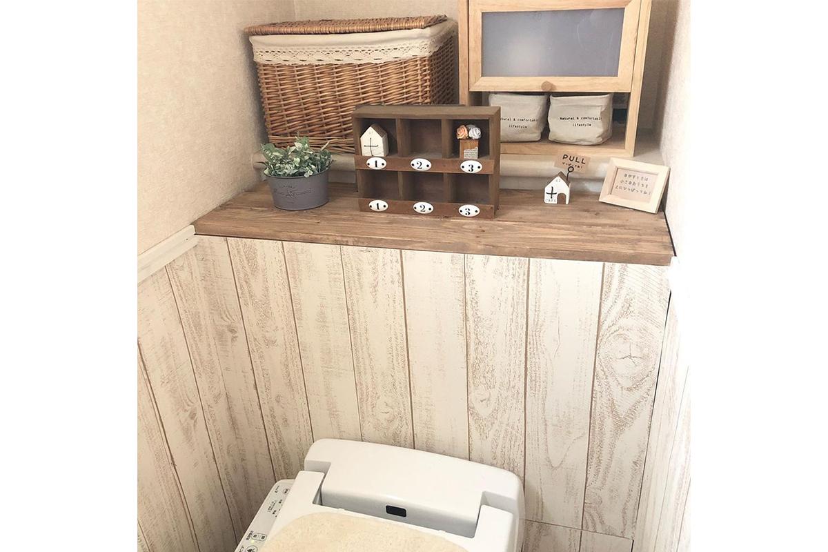 トイレをおしゃれにDIY!タンクレス風やリメイクシートで簡単リメイク