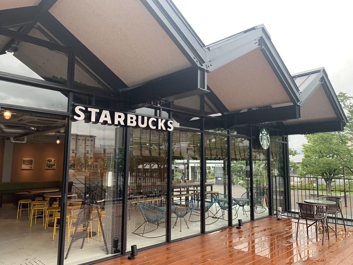 【梅小路】京都初の公園内店舗がオープン!『スターバックス コーヒー ビバスクエア京都 梅小路店』
