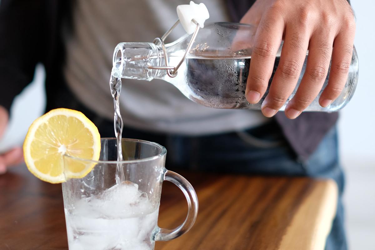 水を濾過するアイテム